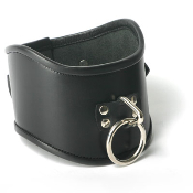 BONDAGE GEAR STRICT LEATHER LOCKING POSTURE COLLAR