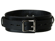 BONDAGE GEAR STRICT LEATHER DELUXE LOCKING COLLAR