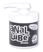ANAL LUBE NATURAL 4.5OZ