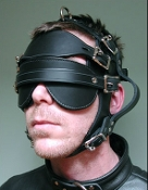 INESCAPABLE HEAD HARNESS BONDAGE GEAR