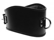 BONDAGE GEAR PADDED LEATHER POSTURE COLLAR