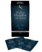 FIFTY SHADES OF GREY THE FOIL PACKET CONDOMS 12 PACK