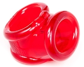 OXBALLS COCKSLING 2 TRANSLUCENT RED