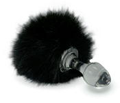 BLACK BUNNY MAGNETIC BUTT PLUG TAIL