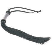 Large 22 Inch Black Rubber Whip