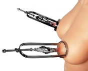 BONDAGE TOYS STAINLESS STEEL CLOVER CLAMP NIPPLE STRETCHER