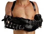 BONDAGE GEAR STRICT LEATHER DELUXE ARM BINDER RESTRAINT