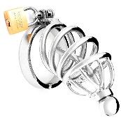 CHASTITY DEVICES THE TIGHT SQUEEZE IMPALER CHASTITY CAGE