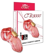 CHASTITY DEVICE CB 3000 PINK CHASTITY DEVICES