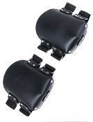 PREMIUM LEATHER KNEE PADS BONDAGE TOYS