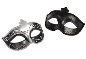 FIFTY SHADES OF GREY MASQUERADE MASKS TWIN PACK