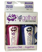 WET TOGETHER COUPLES LUBRICANT 2 OZ BOTTLES BOX OF 2