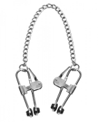 EXTREME PRESS NIPPLE CLAMPS WITH CHAIN