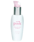 PINK SILICONE LUBE 3.3 OZ PLASTIC BOTTLE