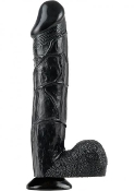 BONNIE ROTTEN BIG BLACK COCK WATERPROOF 12 INCH DILDO