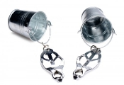 JUGS NIPPLE CLAMPS WITH BUCKETS BONDAGE TOYS