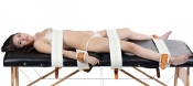 HOSPITAL STYLE BED RESTRAINT SYSTEM COMPLETE SET